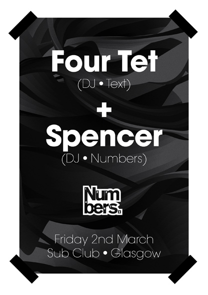 Four Tet (DJ - Text) + Spencer (DJ - Numbers)